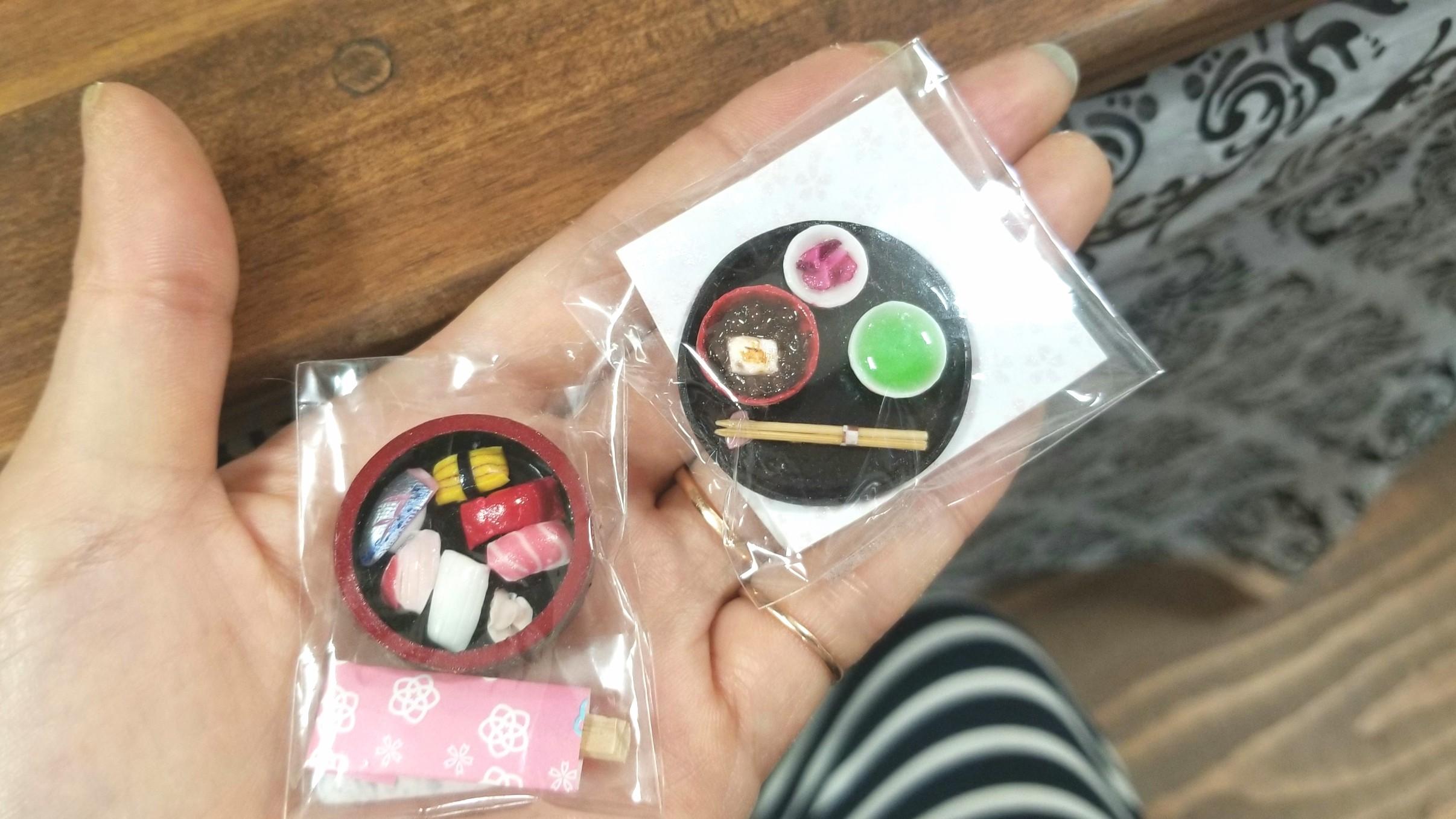 愛媛県松山市,ミニチュアフード,ジョープラ,おしるこ,握り寿司,粘土