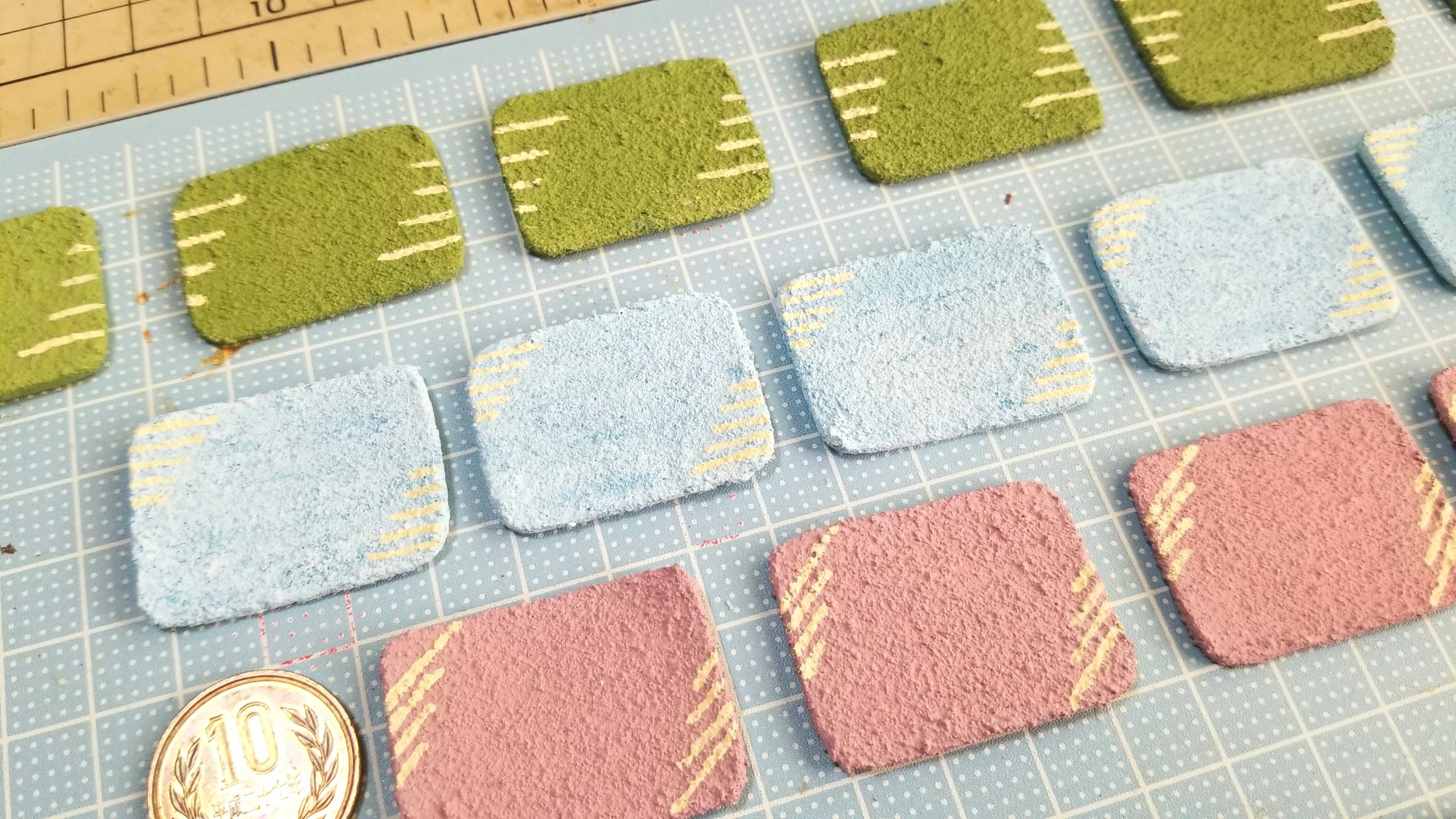 陶器風和食器の作り方,石塑粘土,ミニチュア,おもちゃ,食玩,ドール