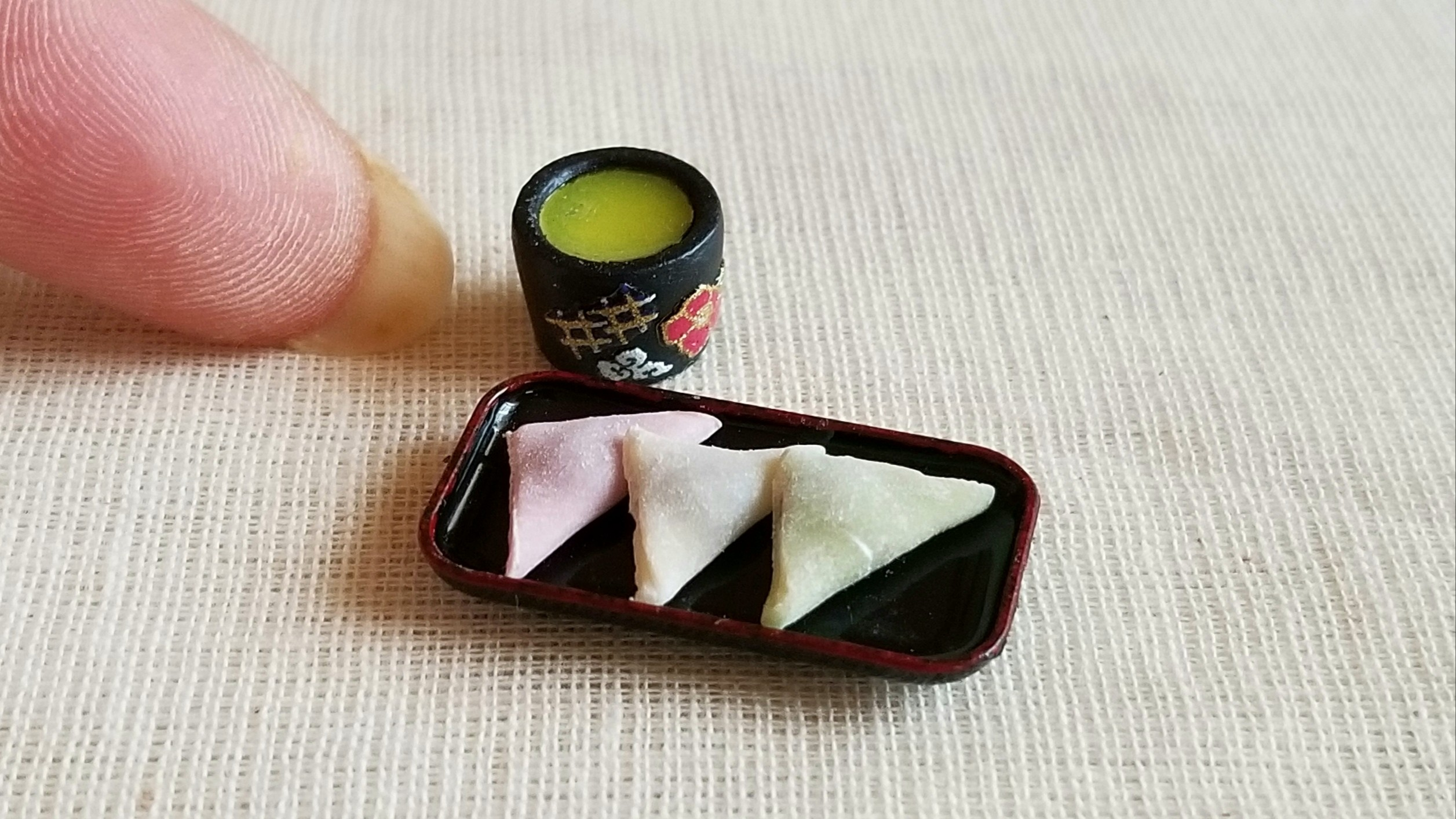 おいしいおすすめ人気和菓子生八ッ橋つお抹茶ミンネで販売中手作り