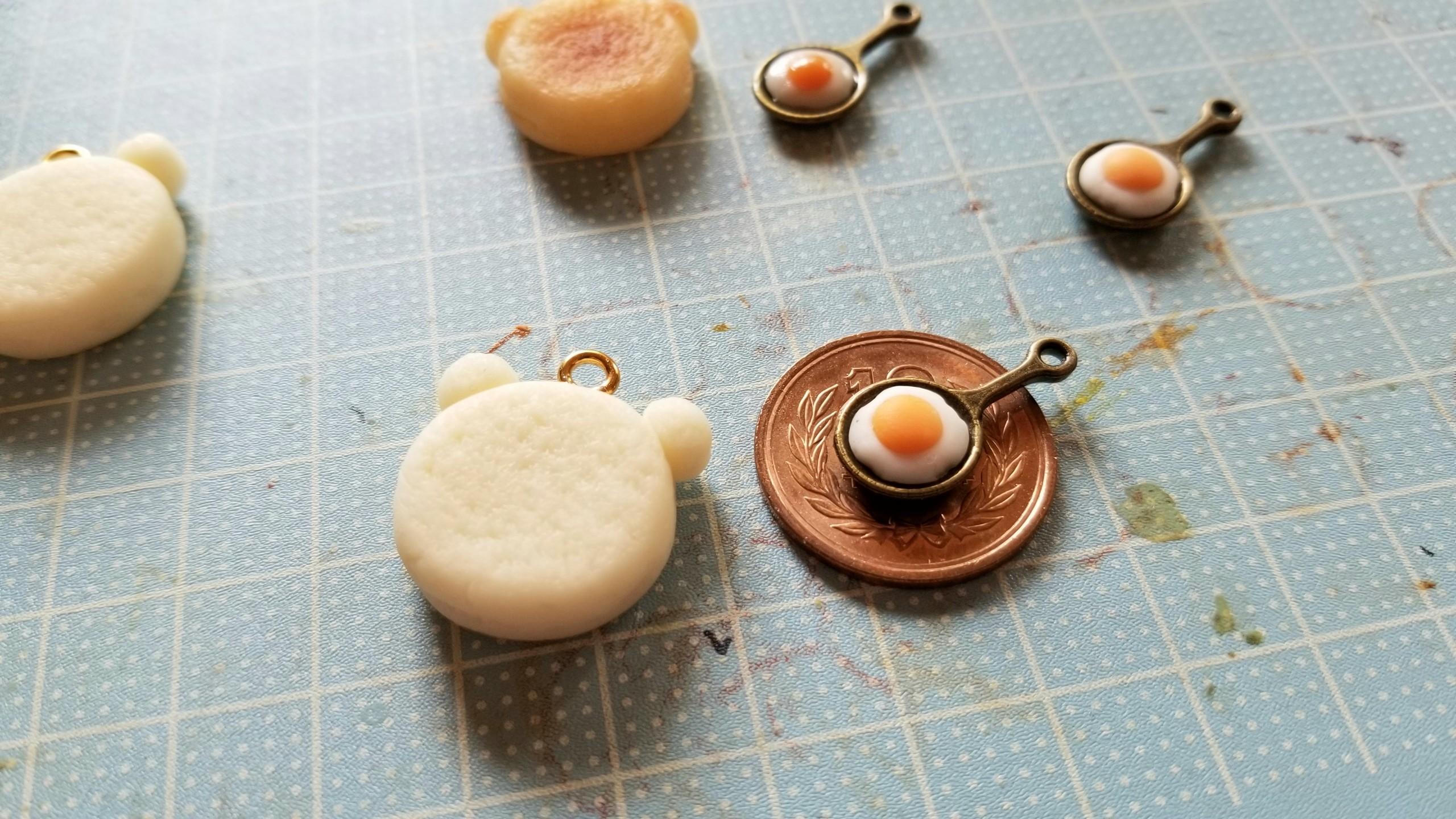 ミニチュアフードかわいいおすすめアクセサリー作り方くま携帯用小物