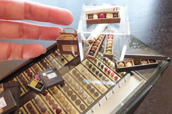 ドールハウスおすすめ,樹脂粘土,リアル,本物みたい,チョコレート