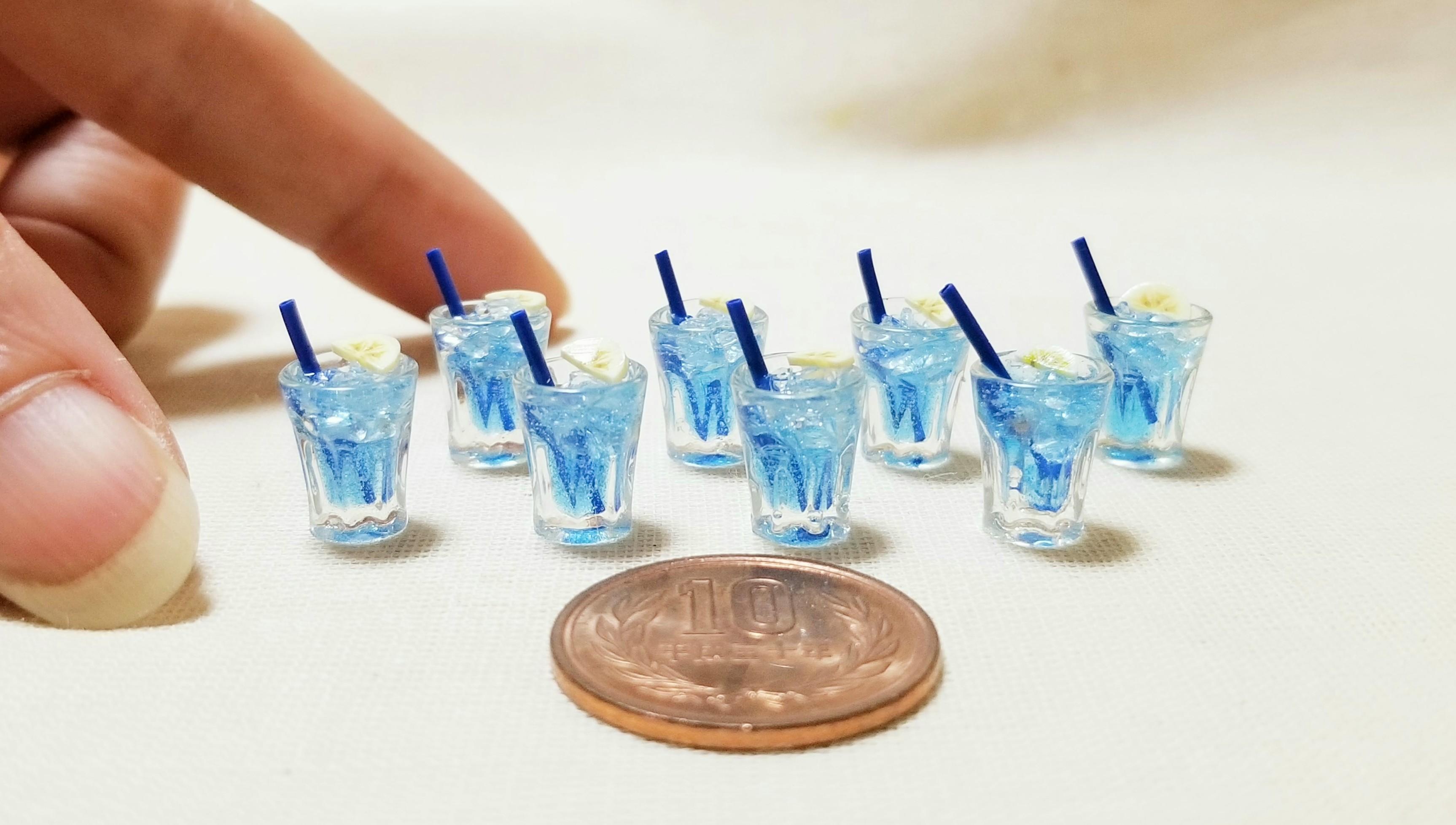 ミニチュアフード飲み物ドリンクおいしい夏爽やかな冷たい人気商品