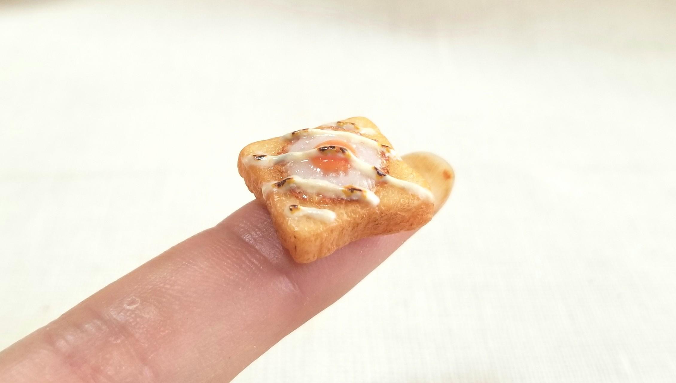 ミニチュアトースト,食パン,ドール小物,ミンネで販売中,オビツろいど