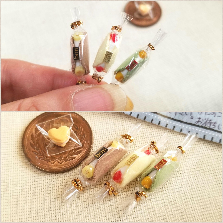 ミニチュアフード,まるごとバナナ,フルーツオムレット,小さい