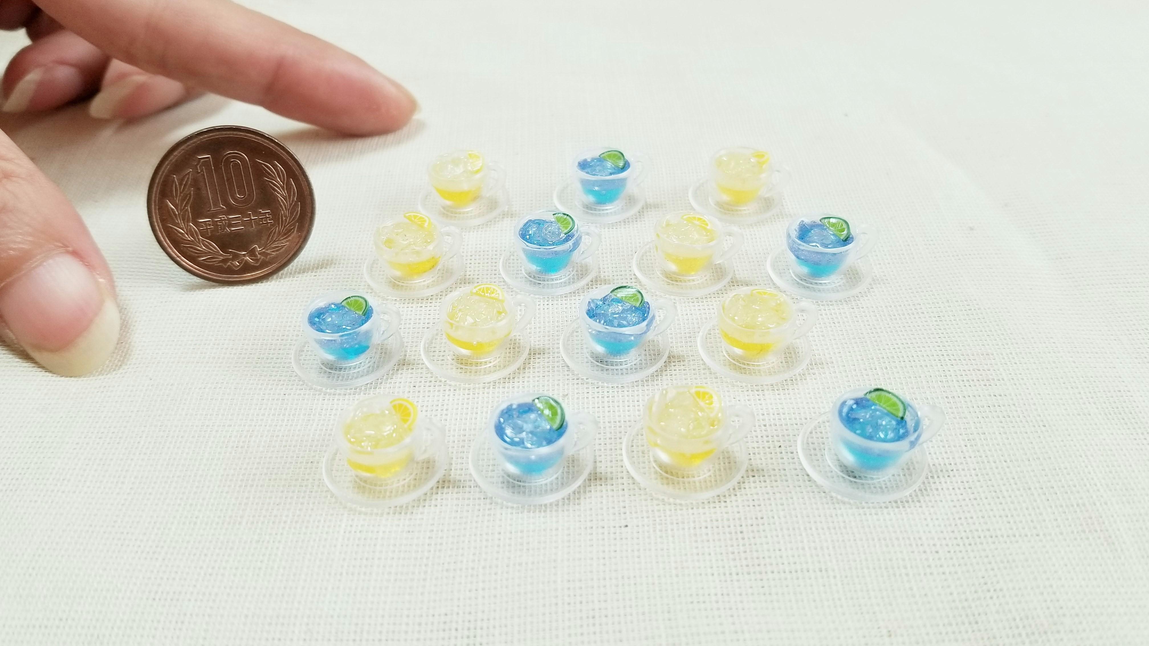 ミニチュア飲み物ドリンクジュース可愛いおすすめドールサイズ小物