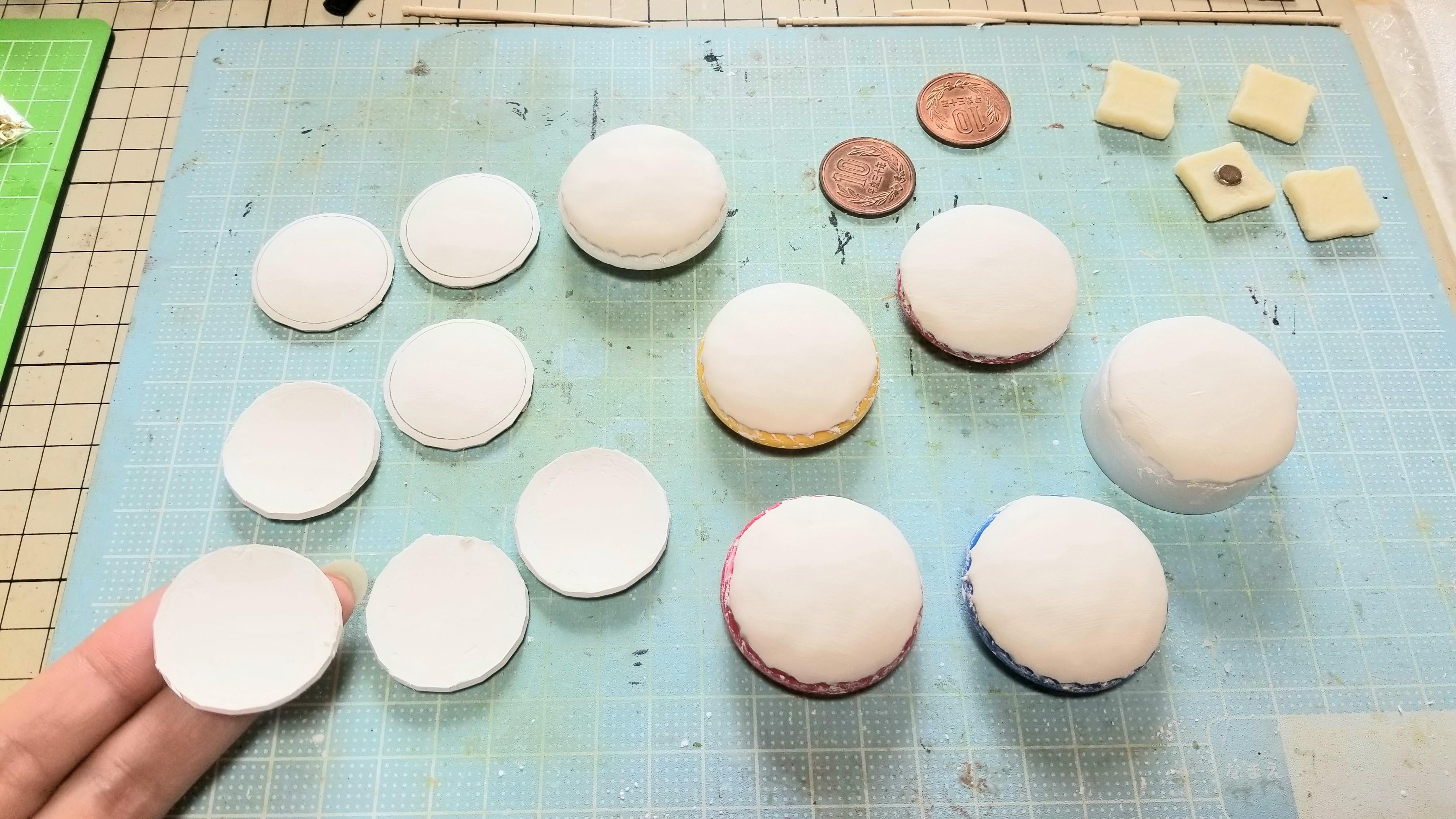 石塑粘土で食器お皿の作り方可愛い手作り小物ハンドメイド自作アート