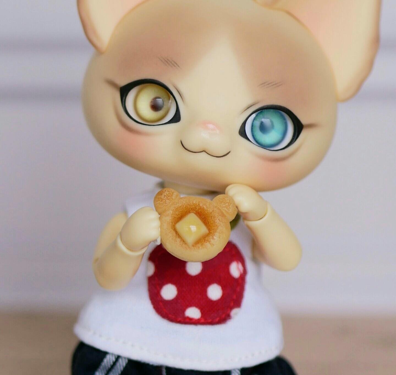 かわいい豆ピカソ人気有名ドール用品小物ミニチュア商品ミンネ販売