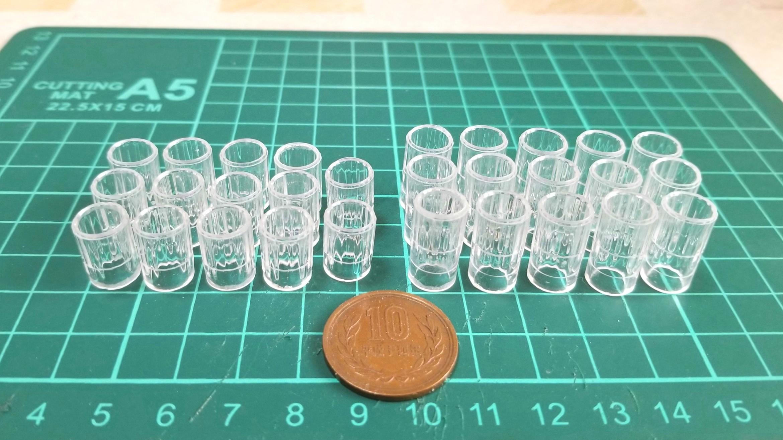 ミニチュアグラスの作り方,わかりやすい,100均の禁煙パイポを応用