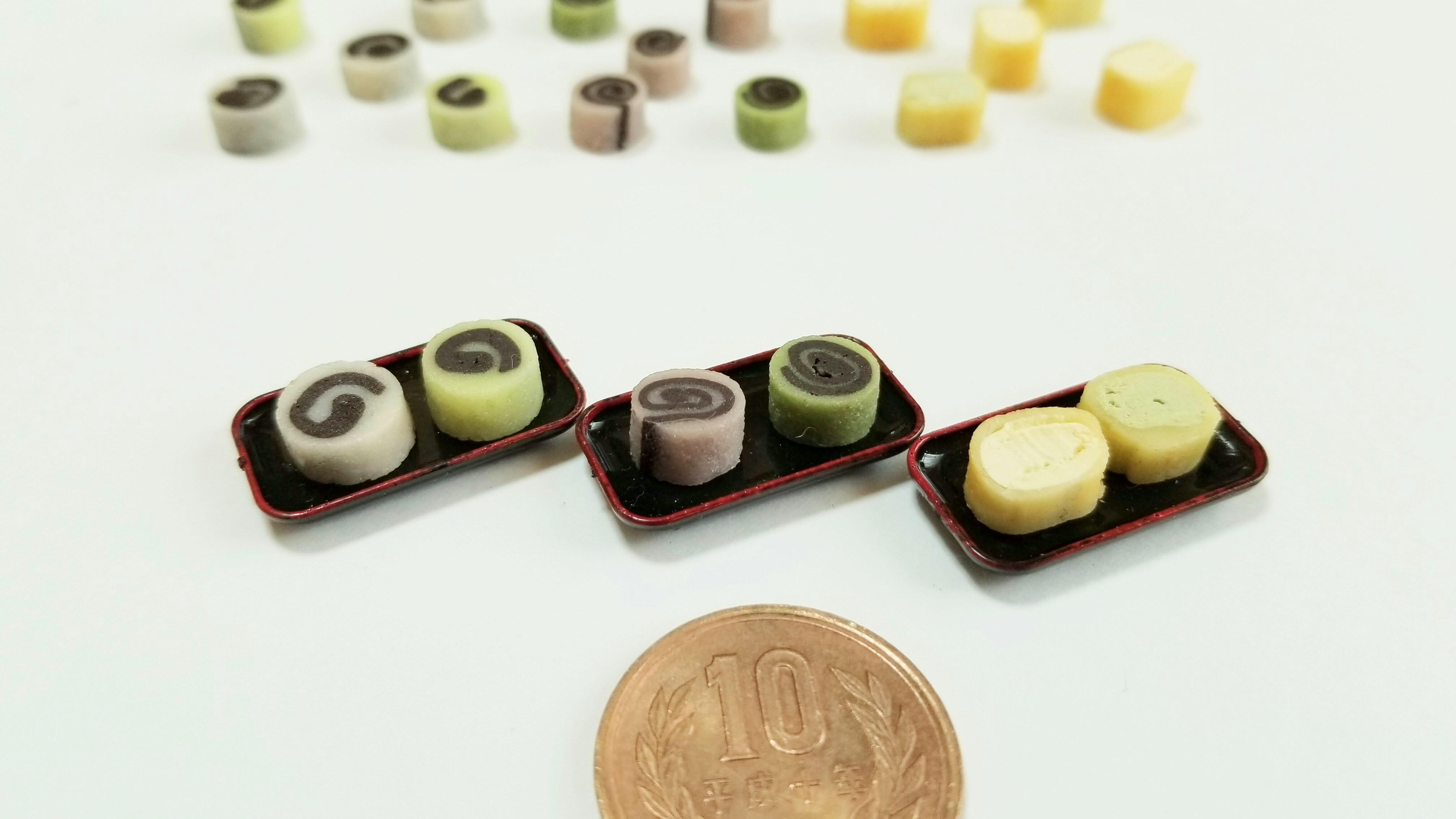 キューポッシュ可愛いドール用小物ミニチュア和菓子おすすめブログ