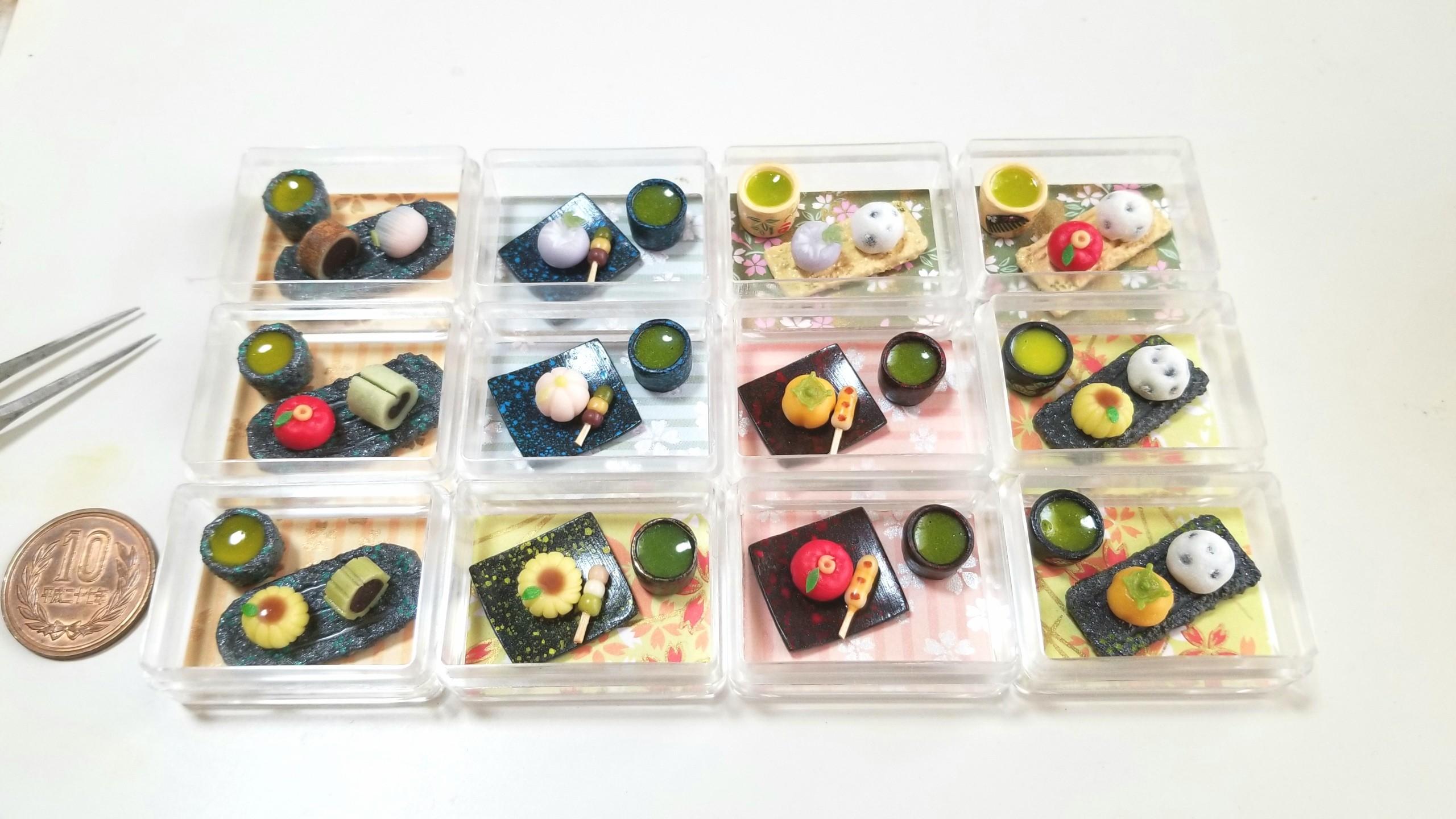 和菓子,ミニチュアフード,第20回東京ドールハウスミニチュアショウ