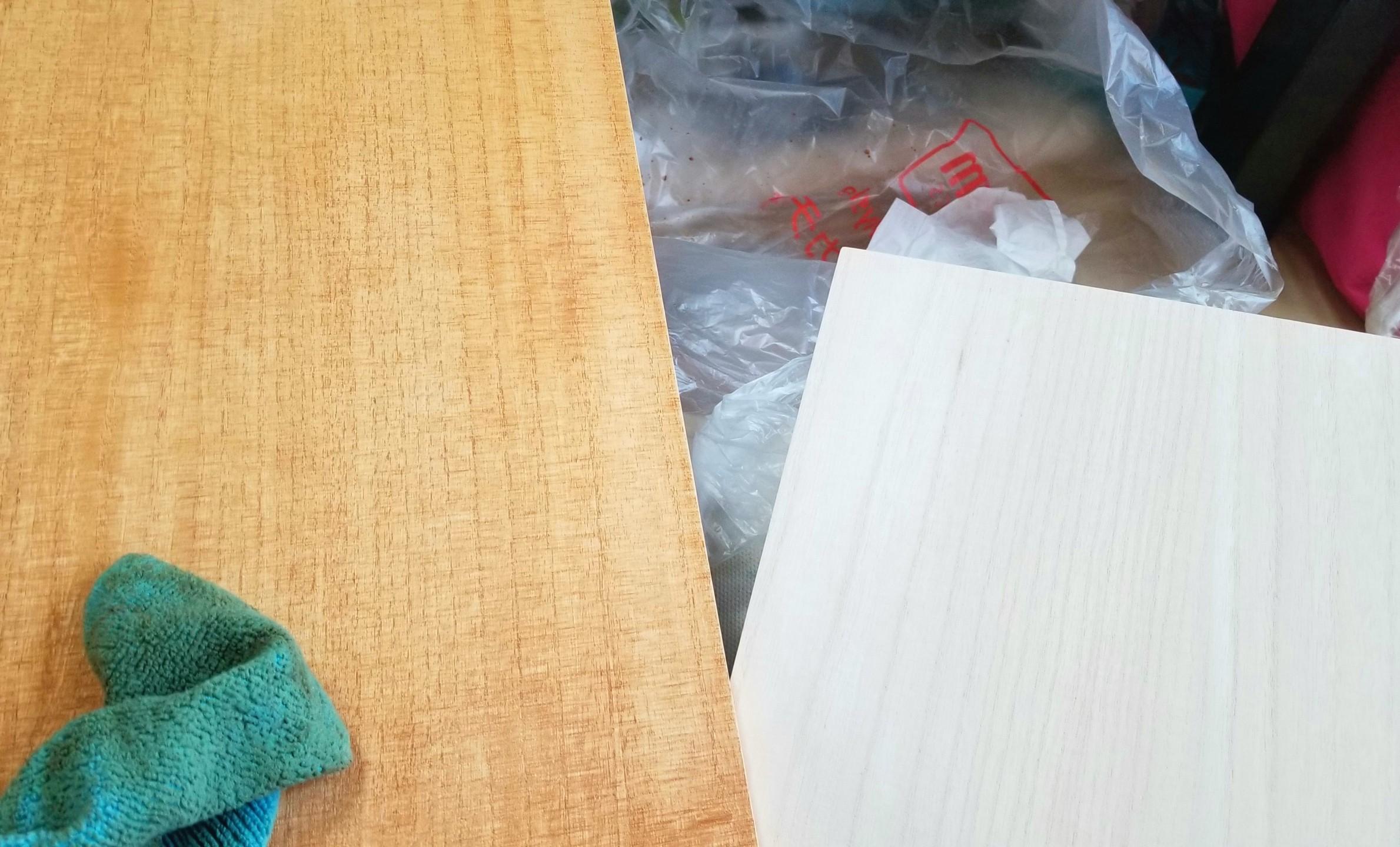 ミニチュアフード,土台,壁,和菓子屋,桐,作り方,ヤスリ,ドールハウス