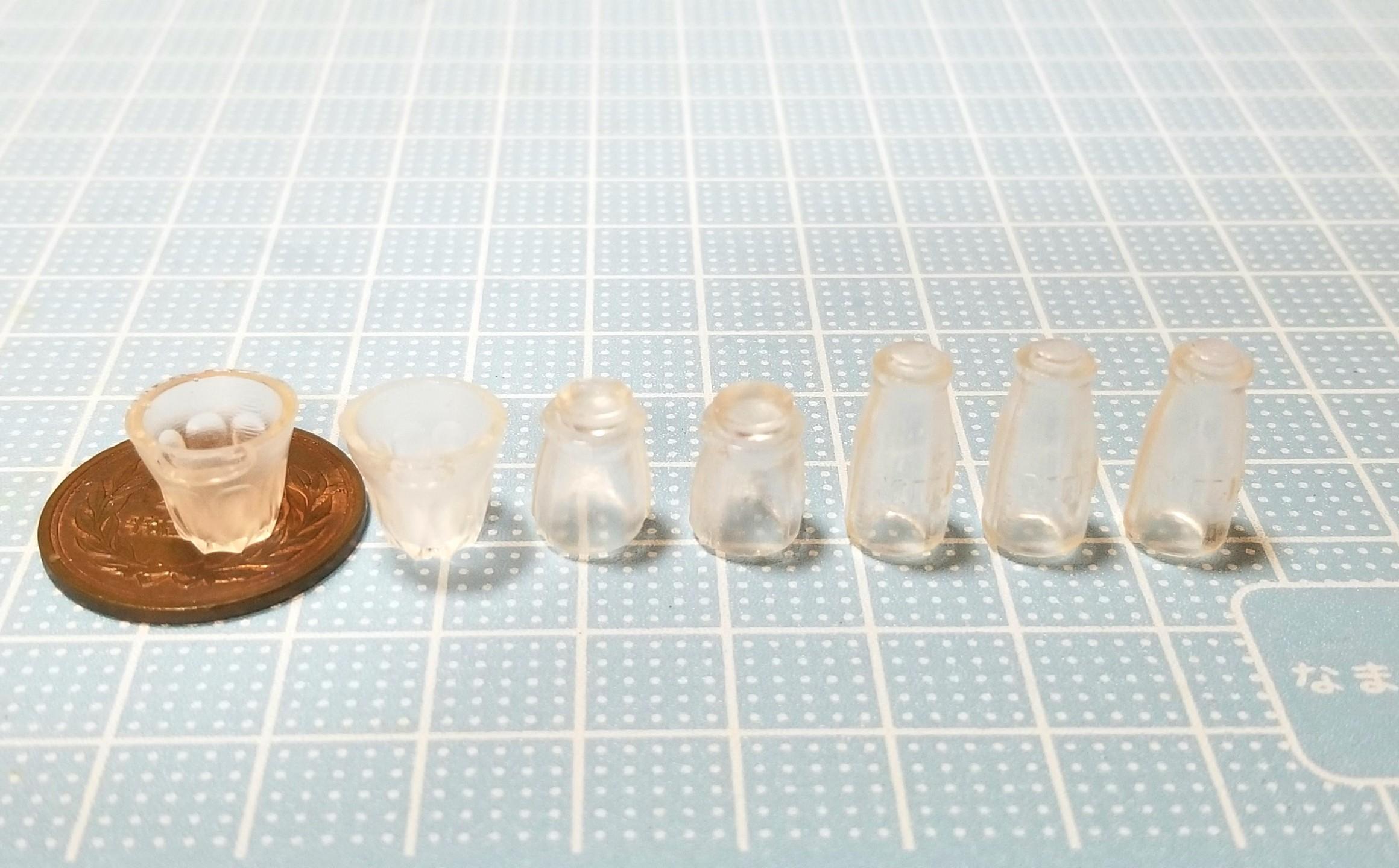 ミニチュアフード,瓶,コップ,グラス,モールド,ブライス,ねんどろいど