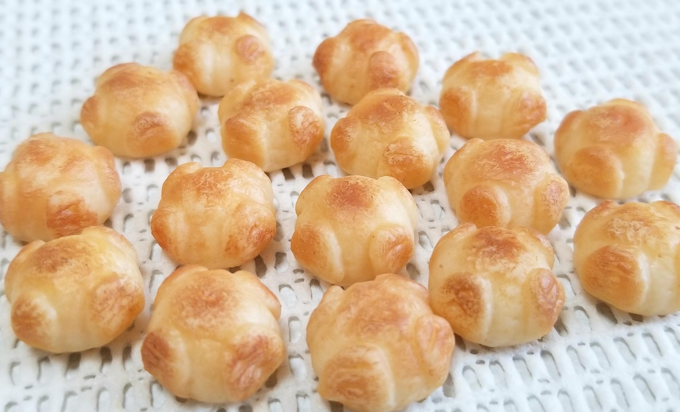 ミニチュアフード, もっちり系カンパーニュ, パン, 樹脂粘土, パーツ