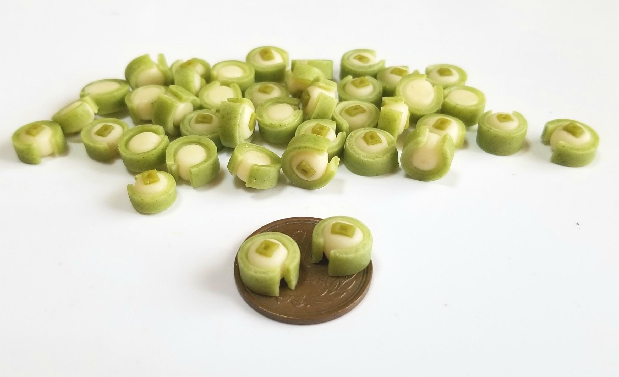 ミニチュアフード,京都の和菓子,樹脂粘土,食品サンプル,オビツ11