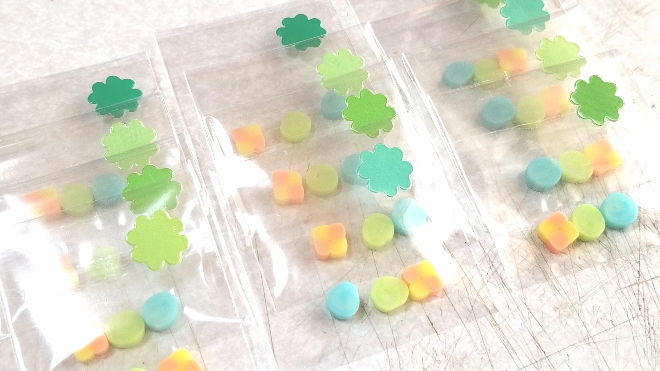 ミニチュアフード,キャンディー,クッキー,飴,樹脂粘土,おまけの作品