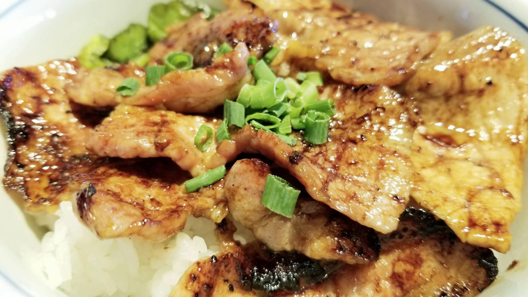 おいしい豚肉丼ぶりマテラの森ランチパスポート愛媛県おすすめブログ
