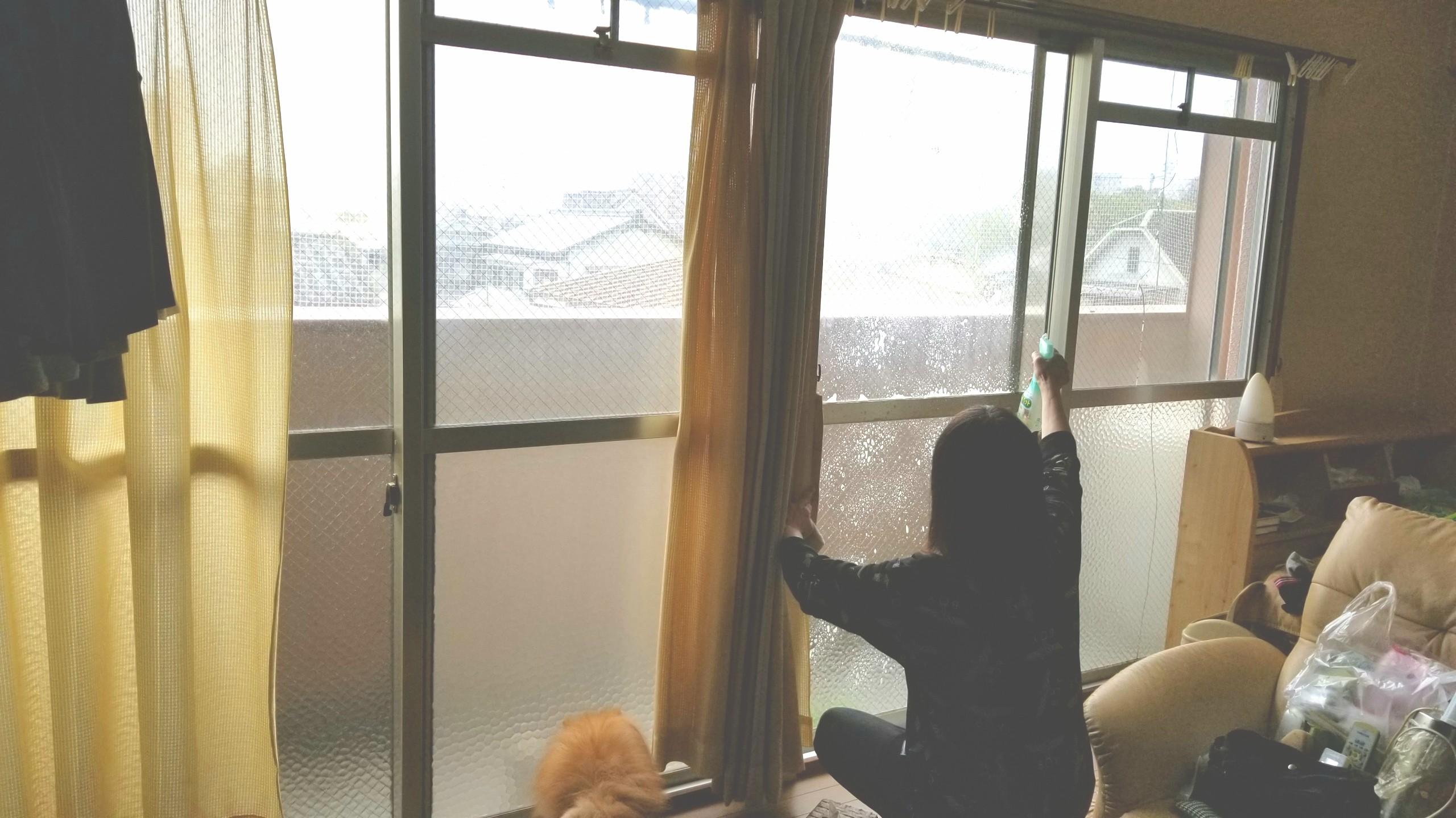 大掃除,窓拭き,かんたんマイペット,おすすめ洗剤アイテム,綺麗に