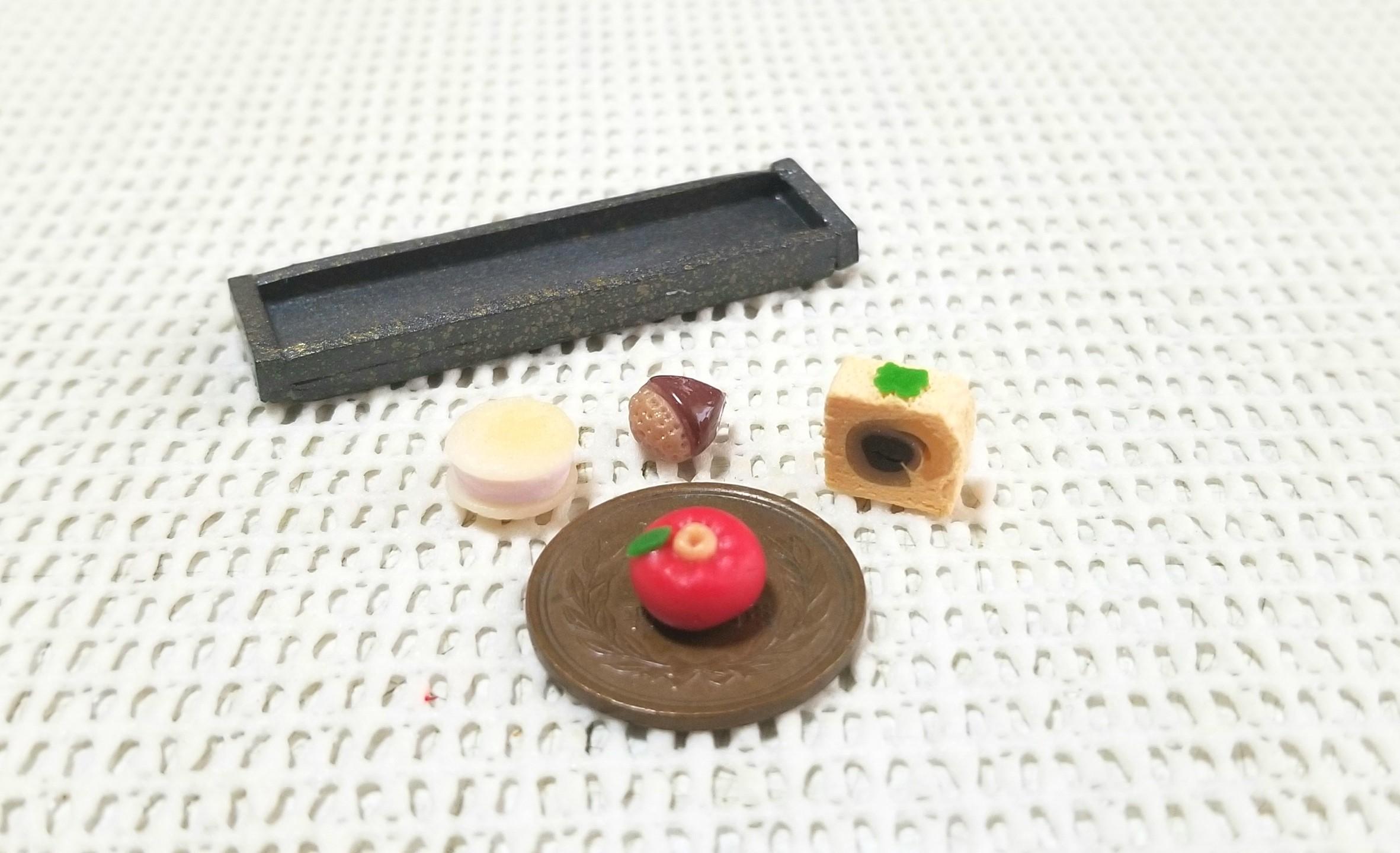 ミニチュアフード,和菓子,ミンネで販売中,フェイクフード, 樹脂粘土
