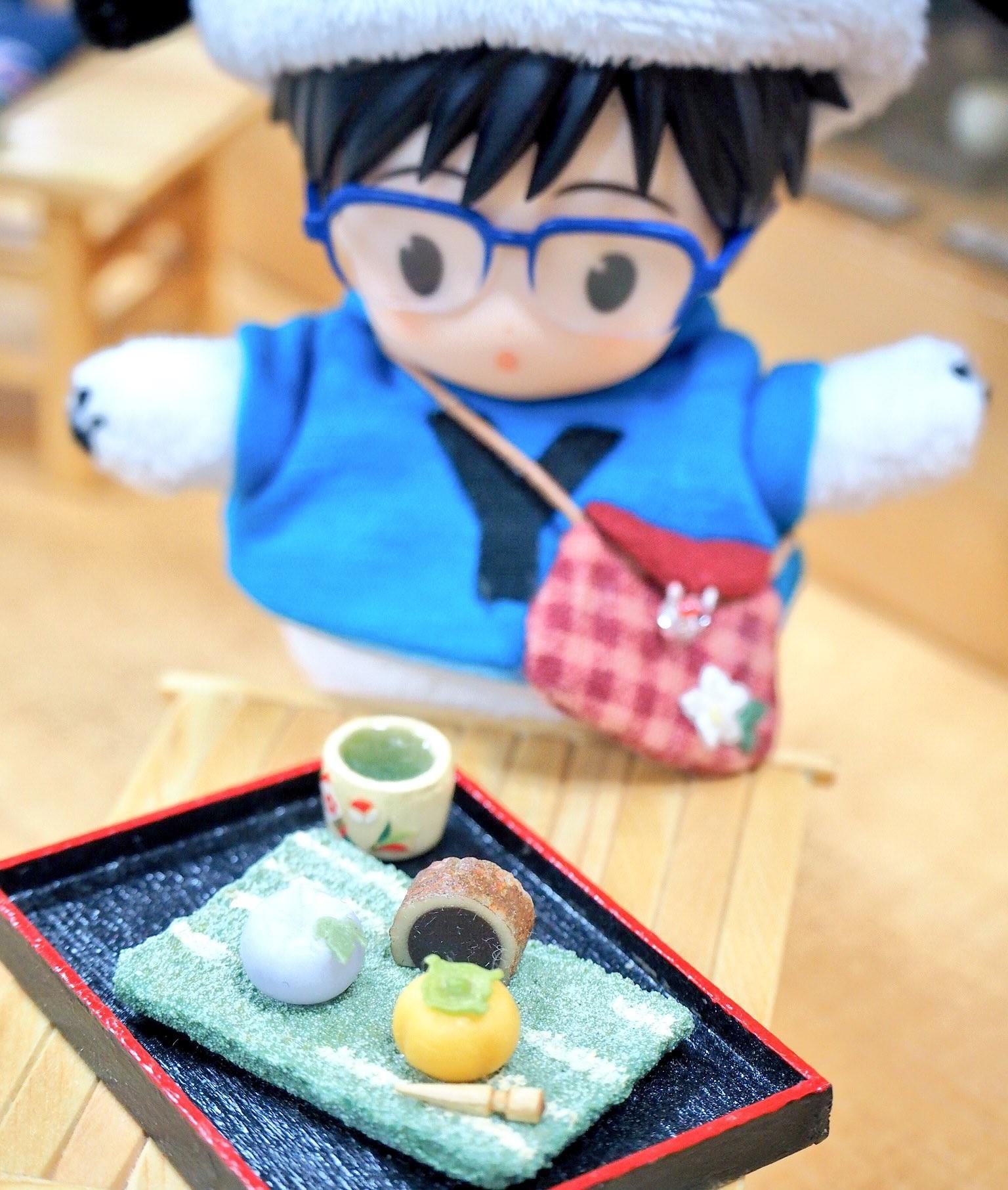 オビツろいど,ねんどろいど,めちゃめちゃ可愛いぽちゃゆ,和菓子