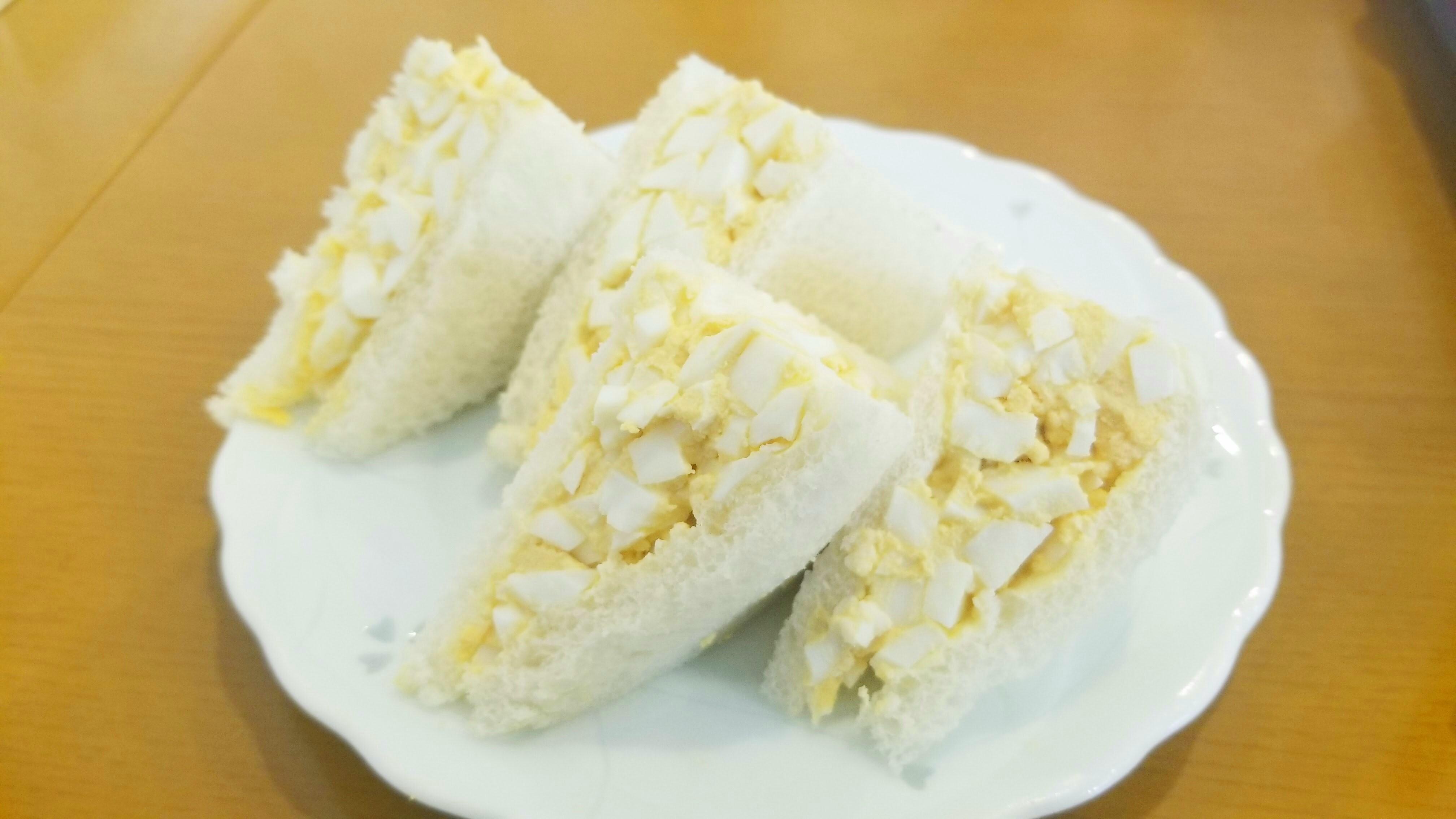 懐かしい味美味しいサンドイッチ愛媛四国グルメ巡り大好きなたまご
