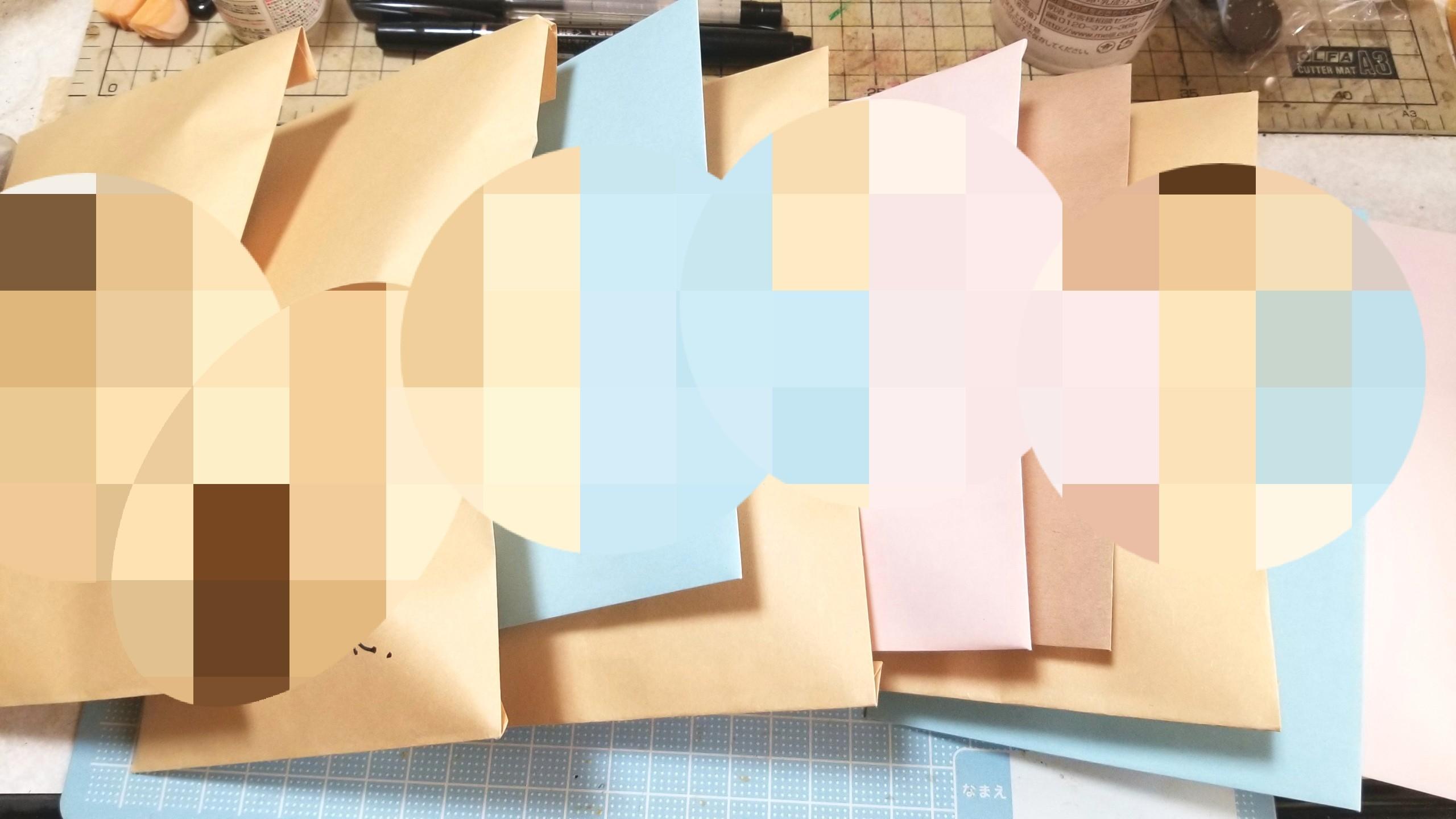 作業過程途中包装,ミニチュア,ハンドメイド,パーツ販売,ミンネ梱包