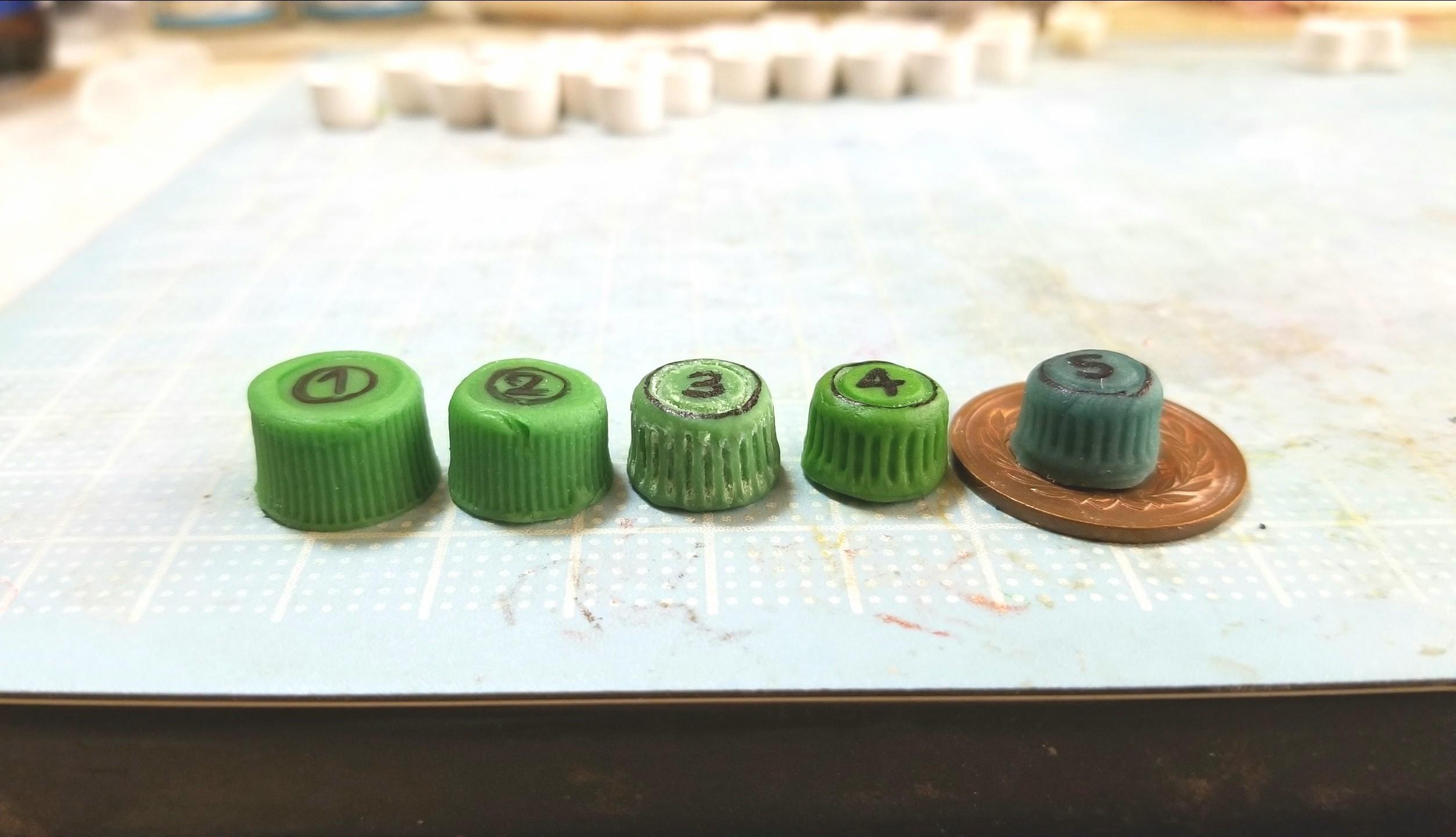 ミニチュアフード,コップ,カップの型,作り方,樹脂粘土,ドール