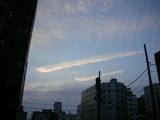 飛行機雲!?