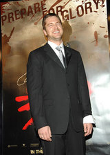 Gerard Butler at the Los Angeles premiere