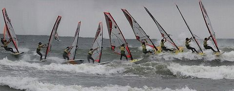 sideshore buttom turn