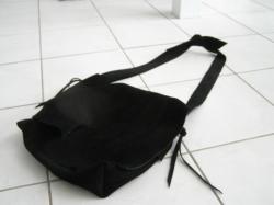 スウェード鞄