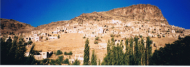 トルコ カッパドキアの奇岩3