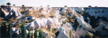 トルコ カッパドキアの奇岩1