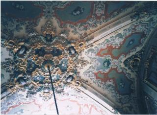 トルコ 美しい天井1