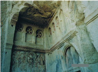 トルコ カッパドキアの教会1