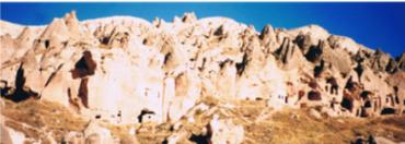 トルコ カッパドキアの奇岩2