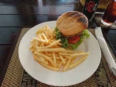 ビーフハンバーガー