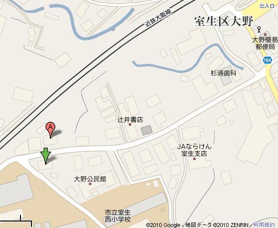後援会事務所地図
