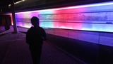 虹色の廊下