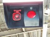駅のホームにある信号機