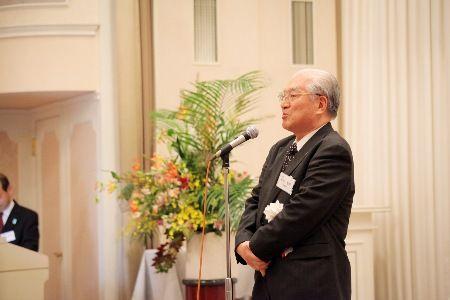 松田副会長による万歳
