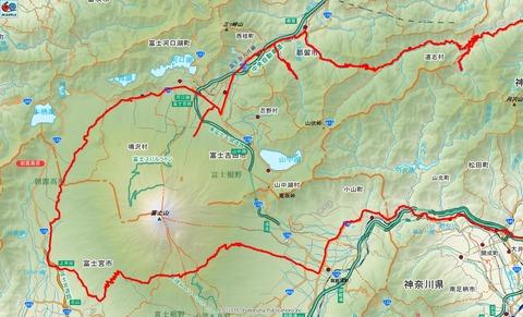 20200617 道志みちから津留-富士山