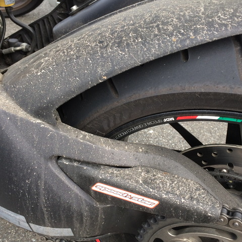 20170826 汚れたバイク