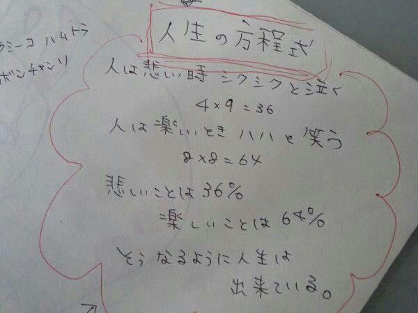 人生の方程式