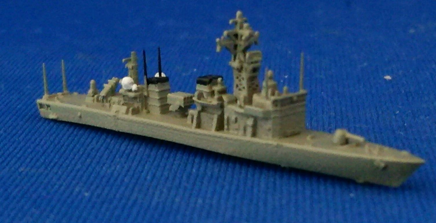 1/2000 あぶくま型護衛艦を塗ってみる : 幕之内弁当三次元造形のblog