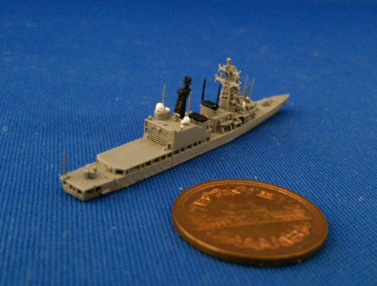 幕之内弁当三次元造形のblog  1/2000 あさぎり型護衛艦後期建造艦を塗ってみるトラックバック                tmakunouchi2013