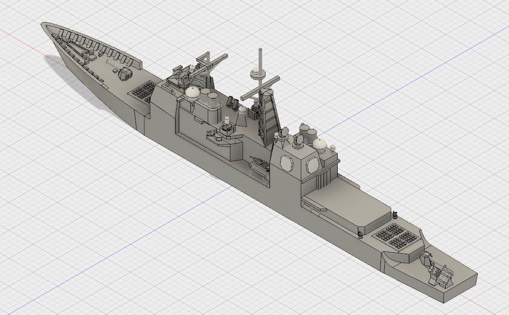 幕之内弁当三次元造形のblogカテゴリ:アメリカ海軍 > タイコンデロガ級ミサイル巡洋艦アーレイ・バークとバンカーヒルの3Dプリントミサイル巡洋艦バンカー・ヒルのモデリング その4ミサイル巡洋艦バンカー・ヒルのモデリング その3ミサイル巡洋艦バンカー・ヒルのモデリング その2ミサイル巡洋艦バンカー・ヒルのモデリング その1                tmakunouchi2013
