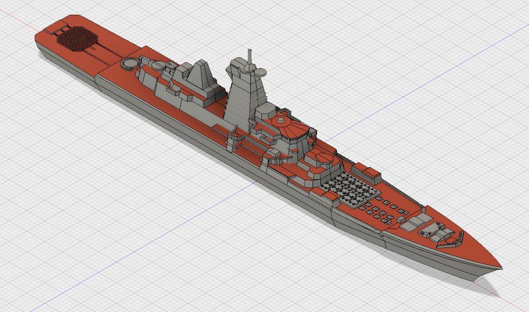 重原子力ミサイル巡洋艦ピョートル・ヴェリーキイのモデリング その2 ...