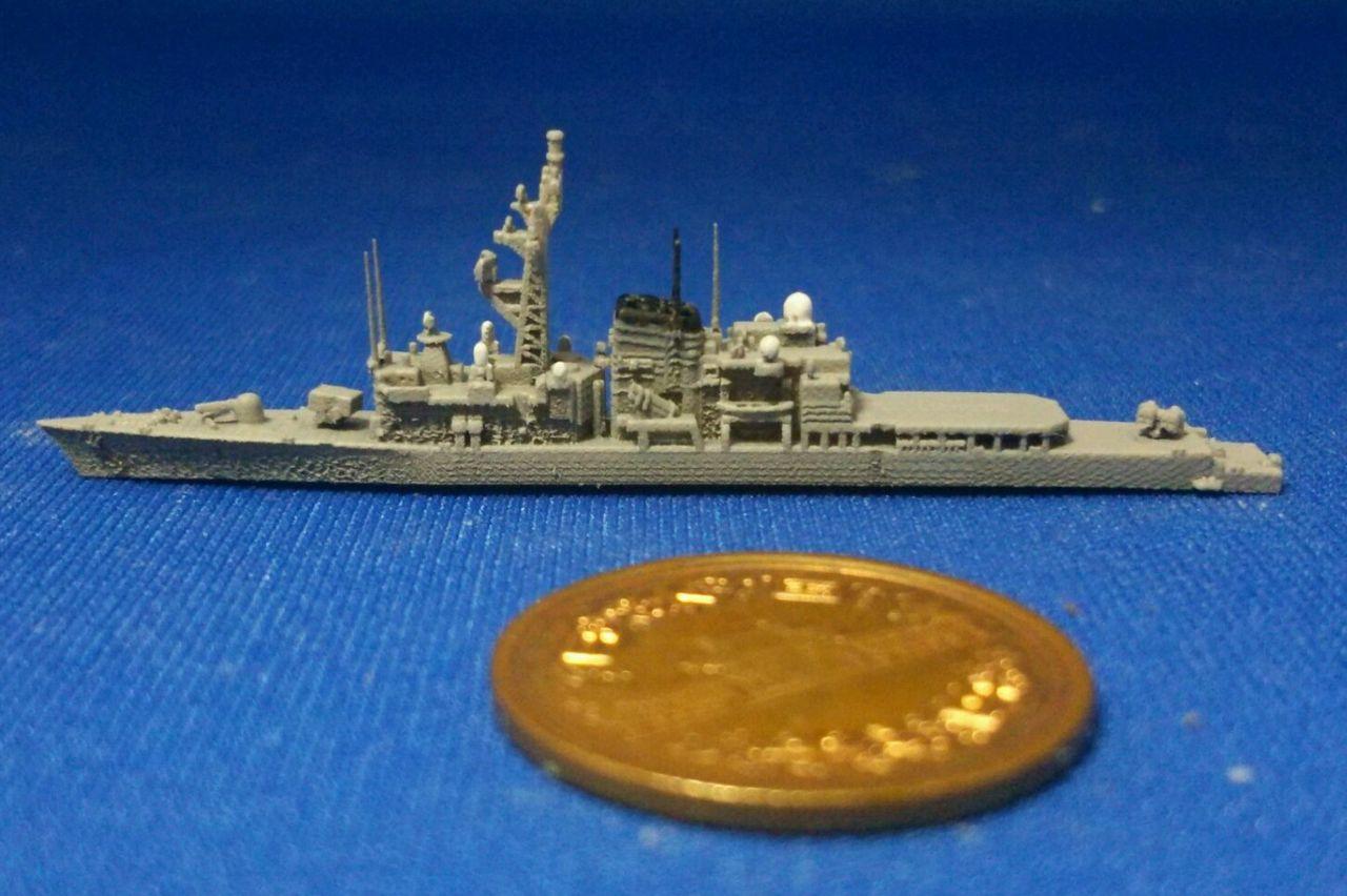 幕之内弁当三次元造形のblog  1/2000 はつゆき型護衛艦を塗ってみるトラックバック                tmakunouchi2013
