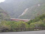 橋と大川の滝