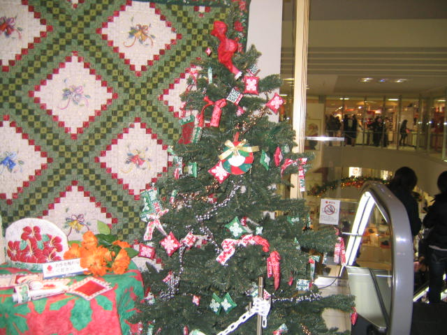 キルトのクリスマス